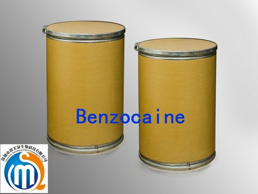 China el anestésico local del extracto herbario natural droga el Benzocaine CAS 94-09-7en ventas